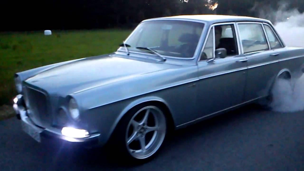 Volvo 164 b30 3x Weber45, Burnout! - YouTube