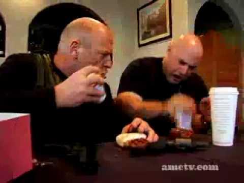 Dean Norris Cop Talk- Donuts