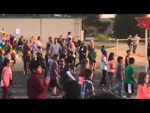 VALLEY center elementary school Open House 4/2015 3rd grade Line Dance
