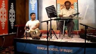 Gaaneri Khatay Shorolipi Likhe - Hawaiian Guitar by Akram Hossain.wmv
