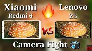 Lenovo Z5 VS Redmi 6 Camera Comparison