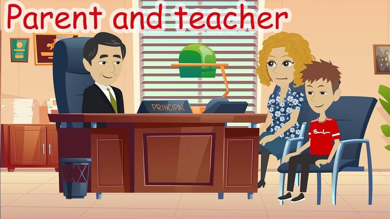 English Speaking : Conversation between parents and teacher