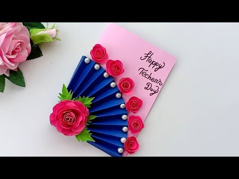 DIY Teacher's Day card/ Handmade Teachers day card making idea