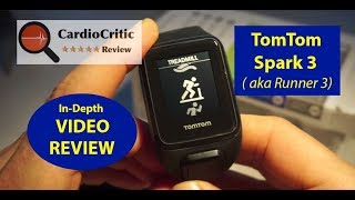 TomTom Spark 3 Video Review (aka TomTom Runner 3) - Top 5 GPS Running Watches 2018