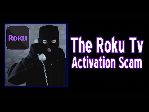 The Roku TV Activation Scam