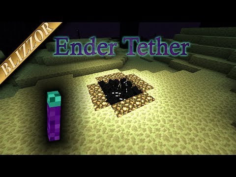 Dark Utilities - Ender Tether [Tutorial] [Deutsch] [GER]