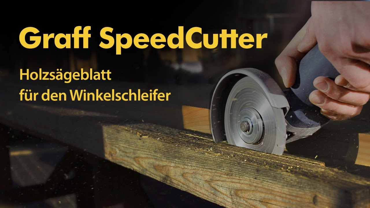 GRAFF Speedcutter 4 1//2-Inch Circular Saw Blade for Angle Grinder Disc for Wood