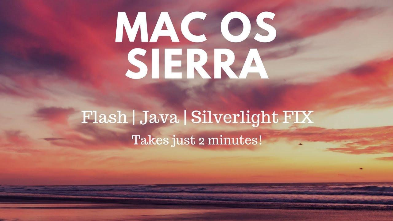 How to run silverlight on mac