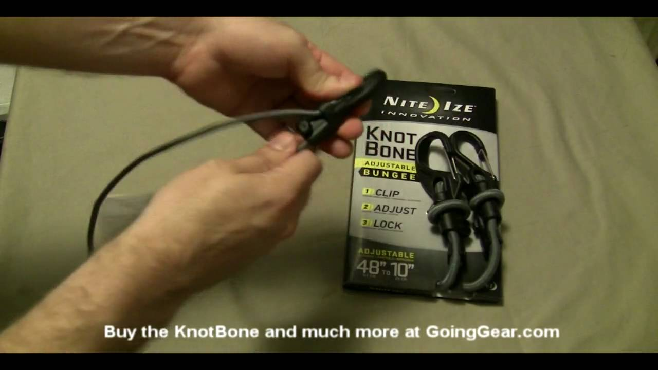 Nite Ize KnotBone Adjustable Bungee Cord Small 5mm