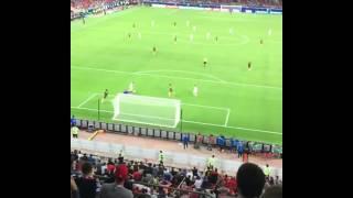 CHILE gol de vargas vs CAMERUN 2-0