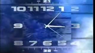 Часы Первого канала 2000 2011 со звуком часов ТВС