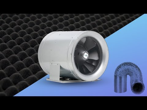 How to Quiet Inline Duct Fans | Tips for fan noise | most quiet duct fan sound grow room indoor