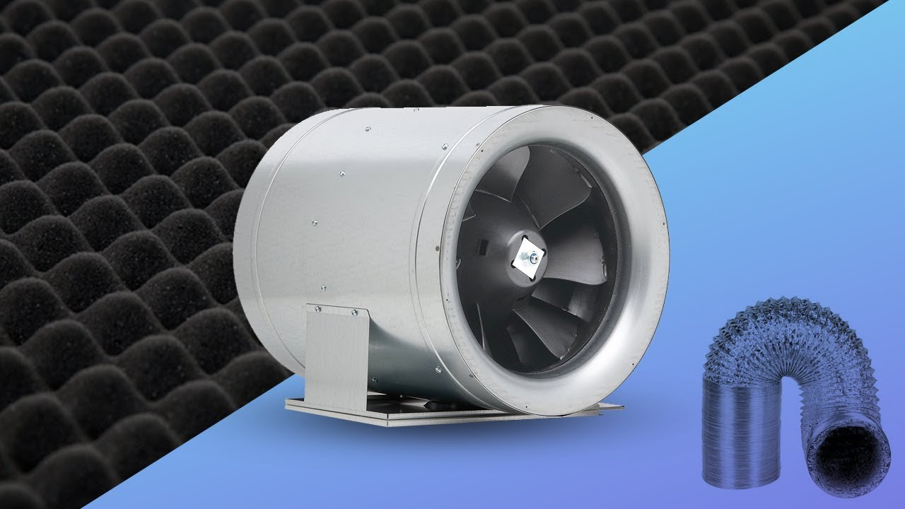 how to quiet inline duct fans tips for fan noise most quiet duct fan sound grow room indoor