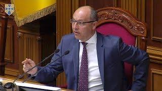 Лишати воюючу країну без міністра оборони недопустимо, - Андрій Парубій