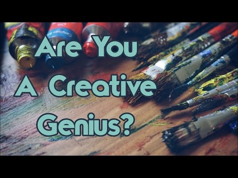 10 Things Only A Creative Genius Will Understand
