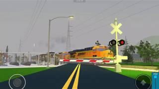 Railfaning at Afton MO/Roblox ft.Golden Swoosh,Warbonnet
