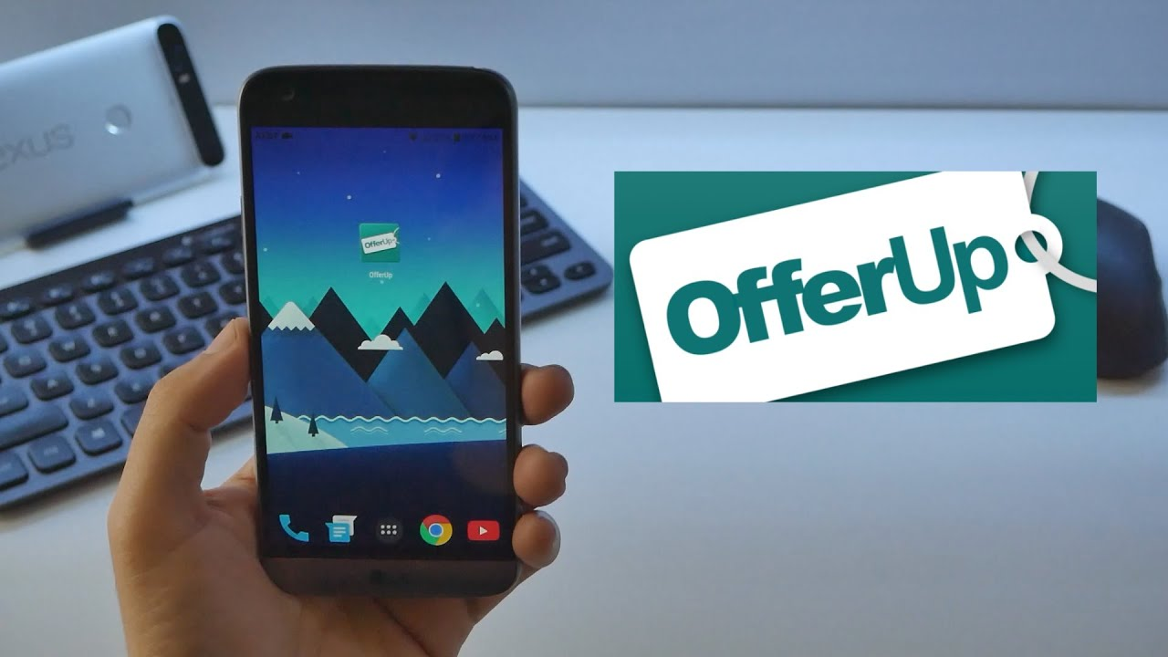 OfferUp: Where I sell all my used goods - Must Have APP