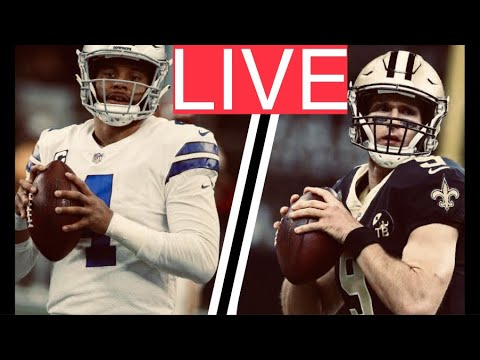 LIVE Saints At Cowboys (2018) PLAY-BY-PLAY  REACTION STREAM   New Orleans Vs Dallas