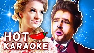BEAUTY AND THE BEAST HOT PEPPER KARAOKE!