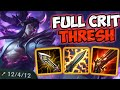 FULL AD CRIT THRESH TOP! | Off-Meta Gameplay