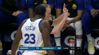3rd Quarter, One Box Video: Minnesota Timberwolves vs. Golden State Warriors
