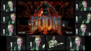 Doom 3 Theme - Acapella & Electric Guitar