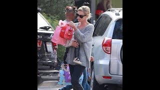 Charlize Theron enjoys day out with her daughter August