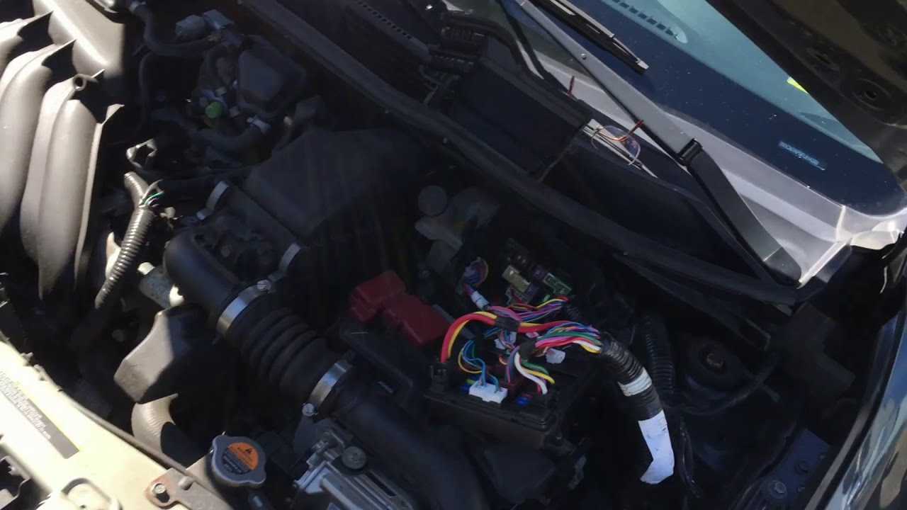maxresdefault nissan versa 2015 radio fuse dead radio bluetooth issue youtube 2015 nissan versa fuse box at virtualis.co