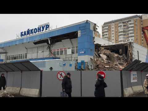 Вот и сломали кинотеатр Байконур в районе Отрадное, г. Москва ...