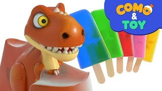 Como and Toys | Toys Ice cream | Learn colors and words | Cartoon video for kids | Como Kids TV