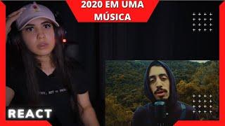 2020 EM UMA MÚSICA [REACT Mah Moojen]
