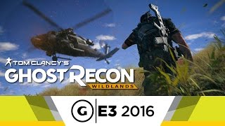 15 Minutes of Ghost Recon: Wildlands Gameplay - E3 2016