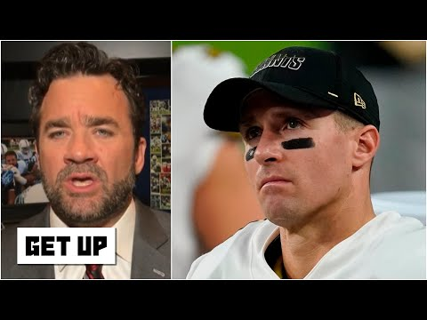 Drew Brees 'looks completely out of sync' & the Saints have looked ugly - Jeff Saturday | Get Up