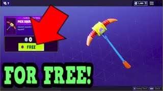 HOW TO GET PICK SQUEAK PICKAXE FOR FREE! (Fortnite Old Pickaxe)