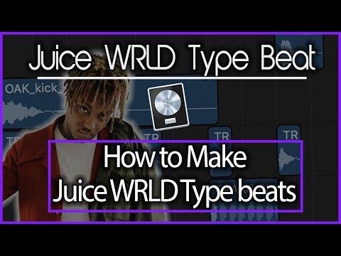 How to Make Juice WRLD Type Beats | 2018 Logic Pro X Tutorial