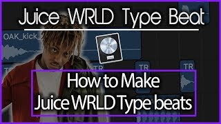 How to Make Juice WRLD Type Beats | 2018 Logic Pro X Tutorial