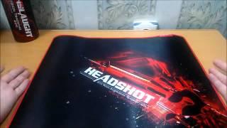посылка из китая 1 игровой коврик a4tech