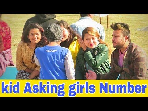 Nepali Prank - Kid Asking Girls Number (Part 2)