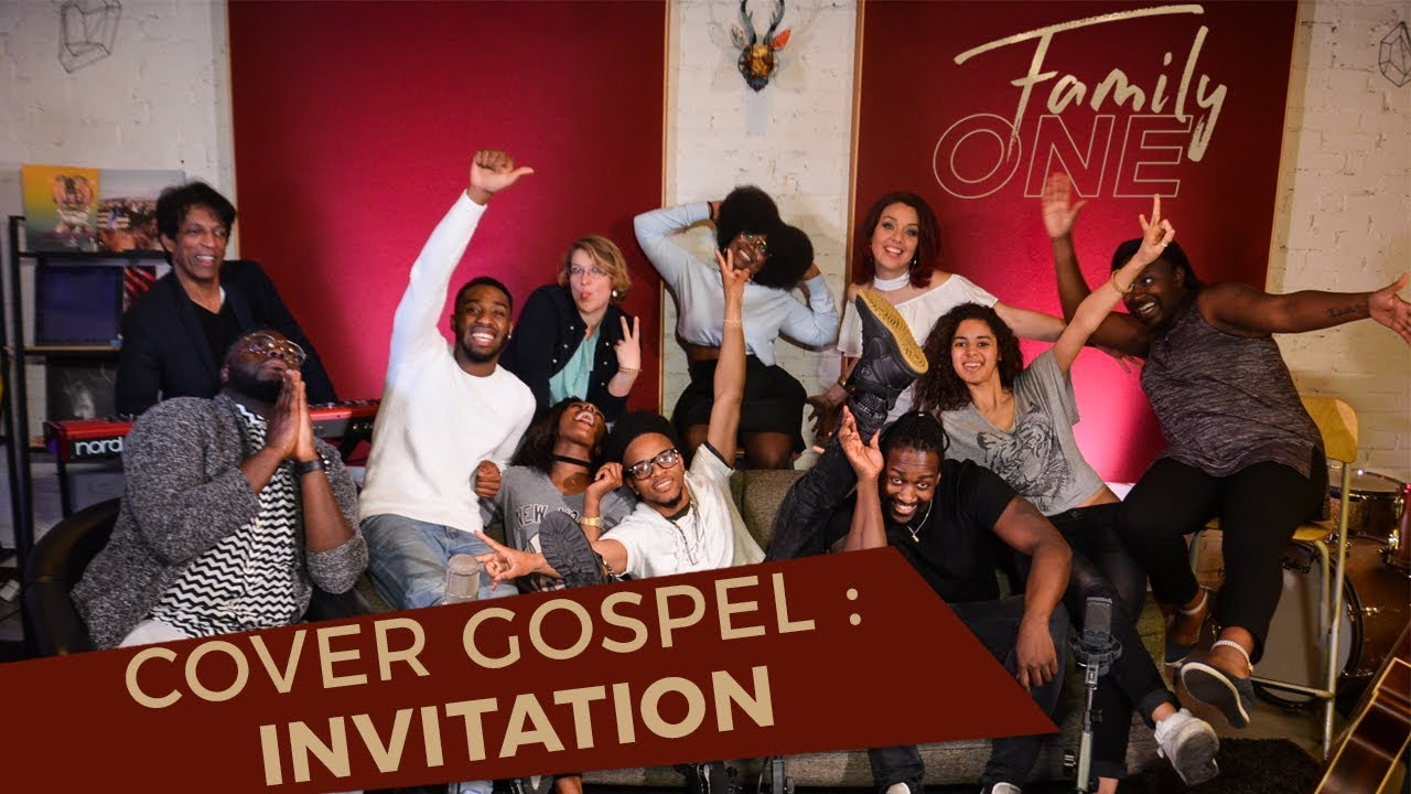 Cover Gospel Invitation Byron Cage Acoustic Cover Avec Family