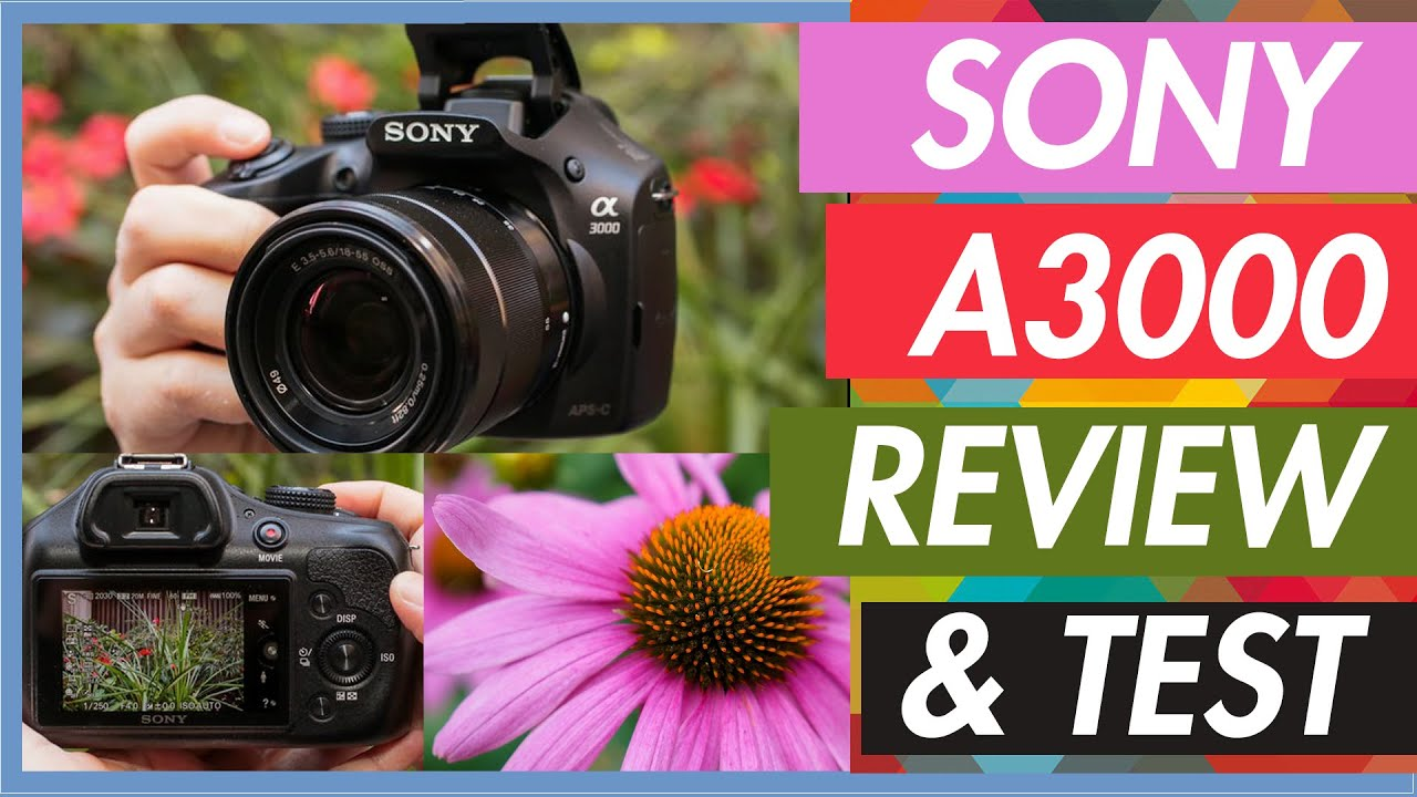Sony a3000 Full Review and Camera,Video Test
