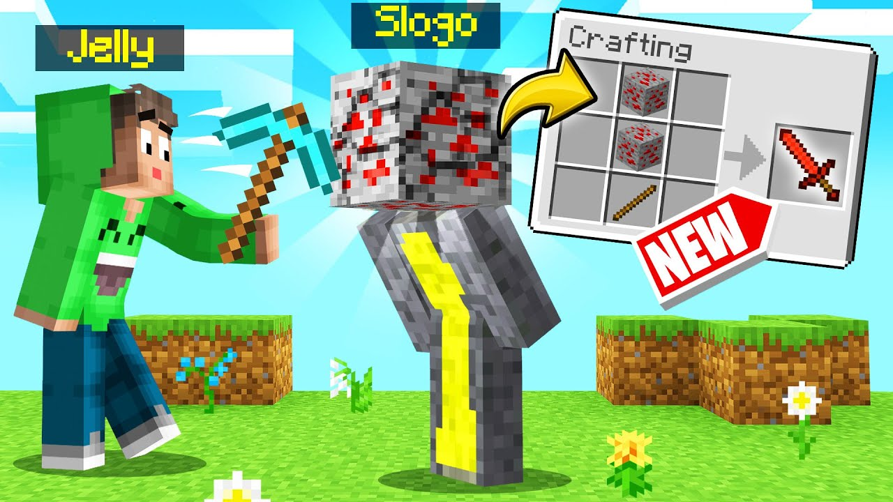 MINING And CRAFTING MY FRIENDS *NEW* ORE! (Minecraft)