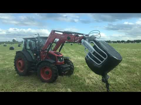 PROFORGE Soft-Hands Round Bale Grab In Action