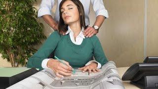 За три минуты убираем головную боль. Японская методика массажа,точки фен чи