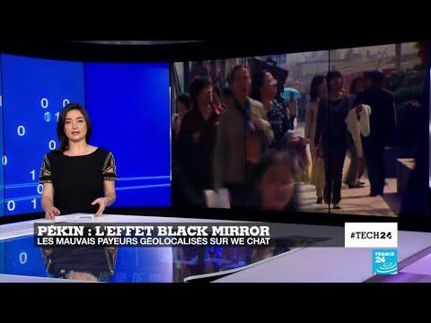 """Tech 24 - L'effet """"Black Mirror"""" en Chine : le système de crédit social bientôt généralisé"""
