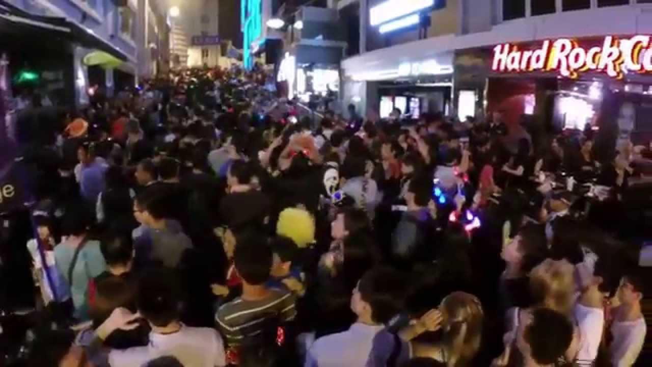Crazy halloween street party part 2 - 1 10