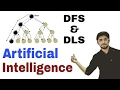 Depth First search (DFS) | Depth limited search(DLS ) | Artificial Intelligence | (Eng-Hindi) #11