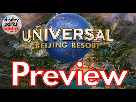 Universal Studios Beijing - Opening Day PREVIEW - July 2021