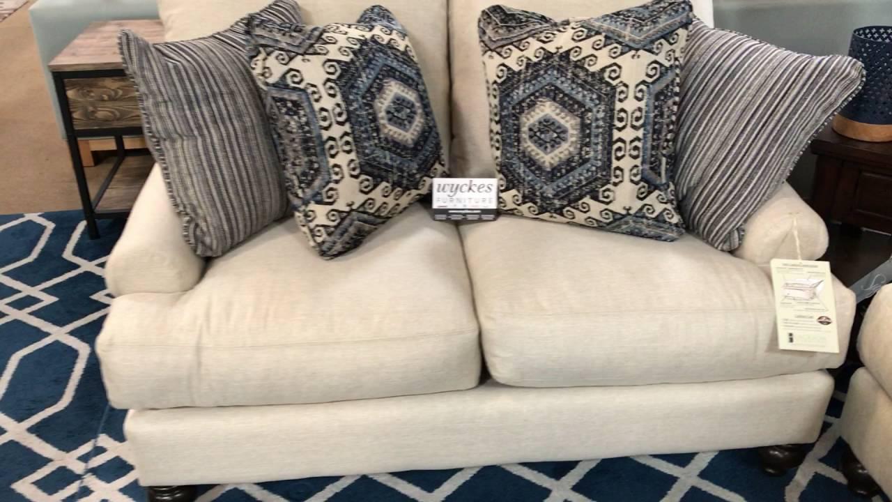 Westchester Feather Blend 3232 Made in the U.S.A. Sofa Set - YouTube