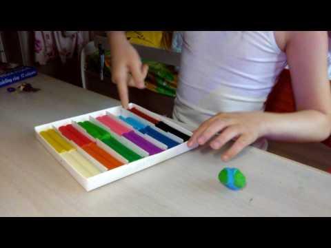 Как сделать макет глобуса из пластилина