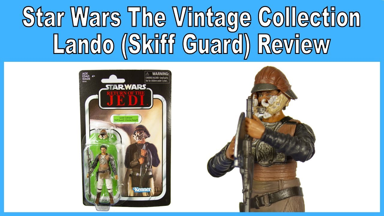skiff Guard ROTJ Star Wars The Vintage Collection Lando Calrissian